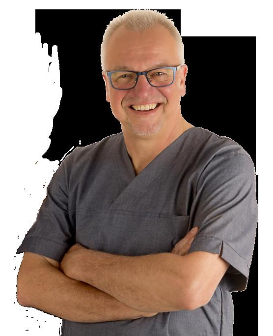 portræt af Klinisk Tandtekniker Jens Broman